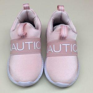 Nautica Girls fashion sneaker Running shoe